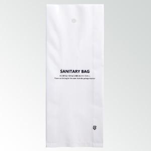 LDPE製トイレ用サニタリーバッグ(白)